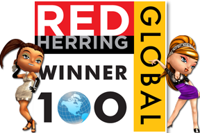 Winner of Red Herring Global Top 100 award